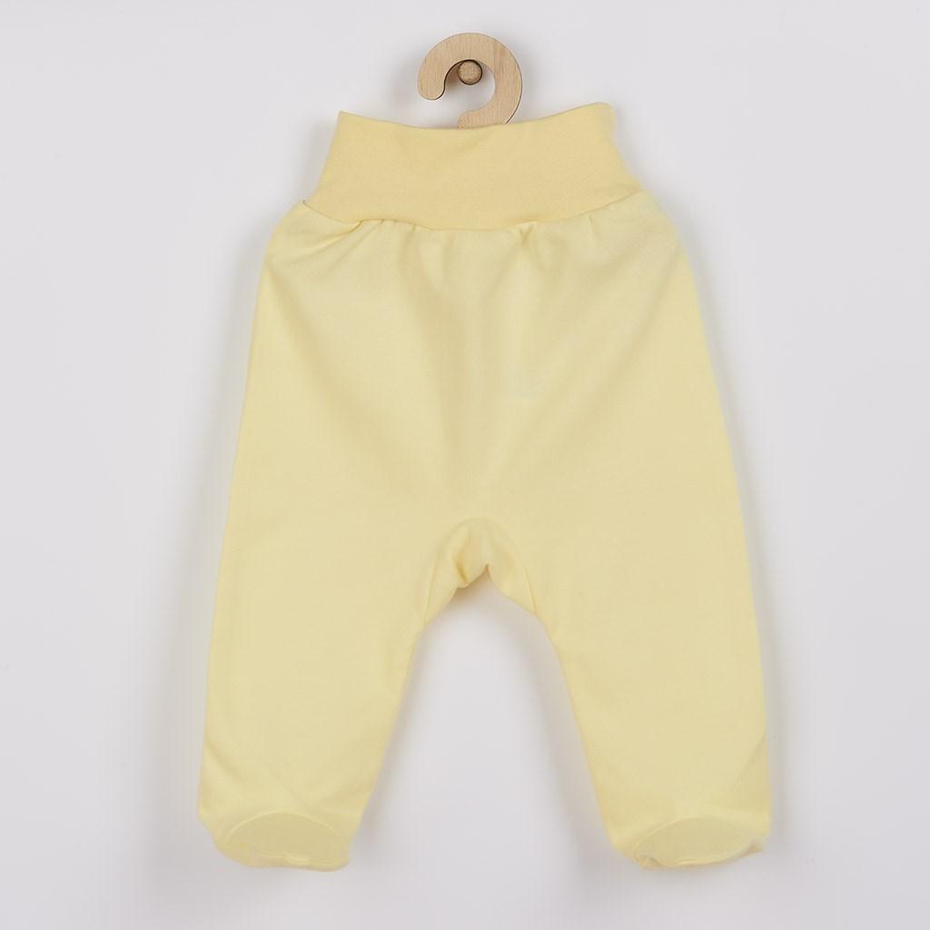 Dojčenské polodupačky New Baby žlté 62 (3-6m)
