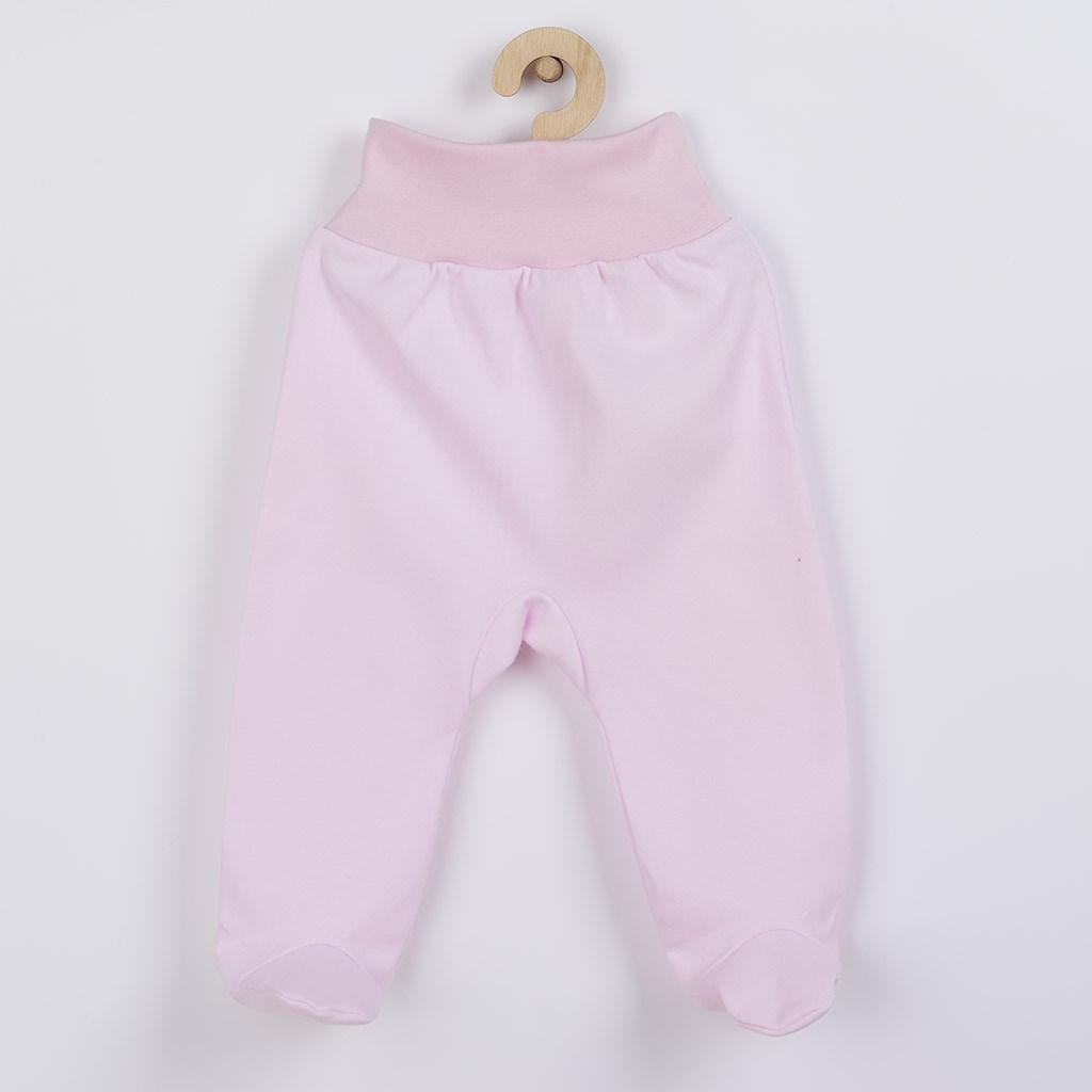 Dojčenské polodupačky New Baby ružové
