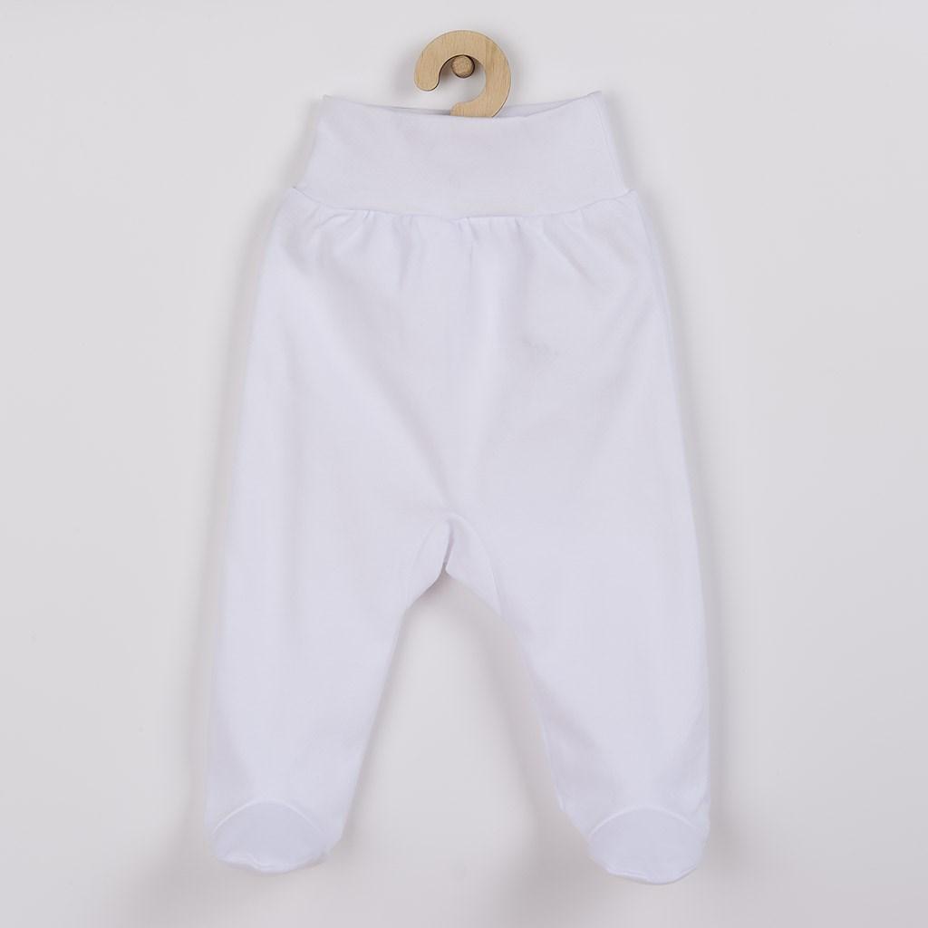 Dojčenské polodupačky New Baby biele 74 (6-9m)