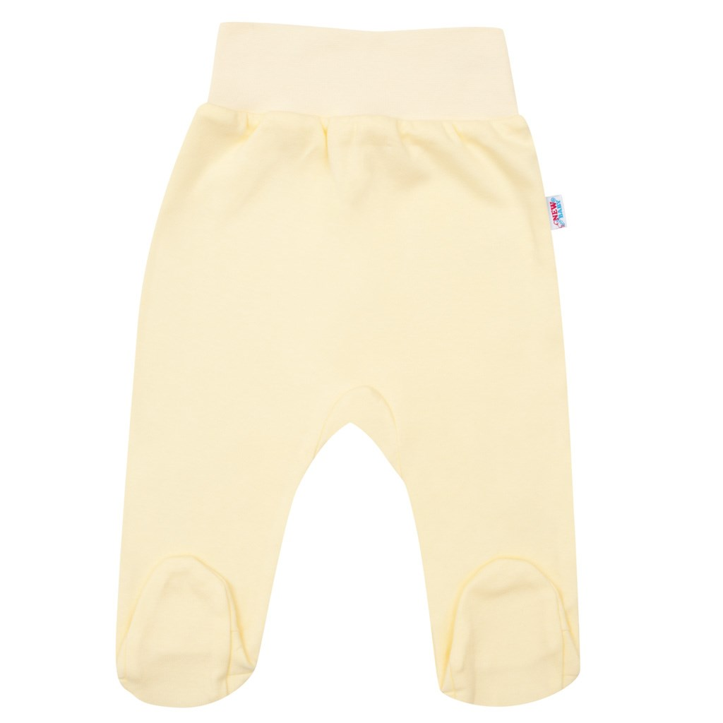 Dojčenské polodupačky New Baby žlté-86 (12-18m)