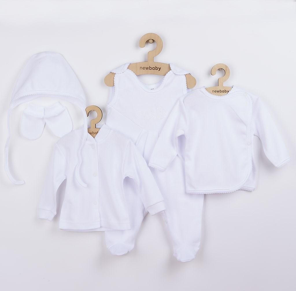 5-dielna súprava New Baby biela-62 (3-6m)