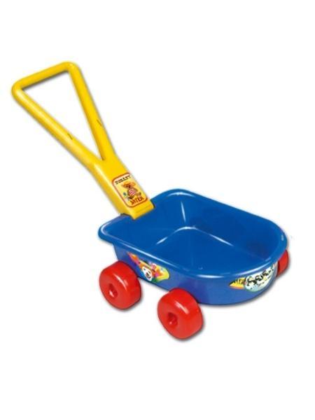 Detský vozík - modrý