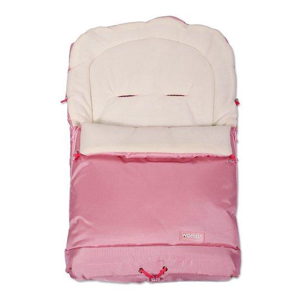Fusak Womar - fleece 3v1 svetlo ružový