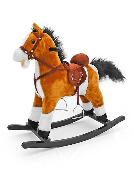 Hojdací koník Milly Mally Mustang svetlo hnedý