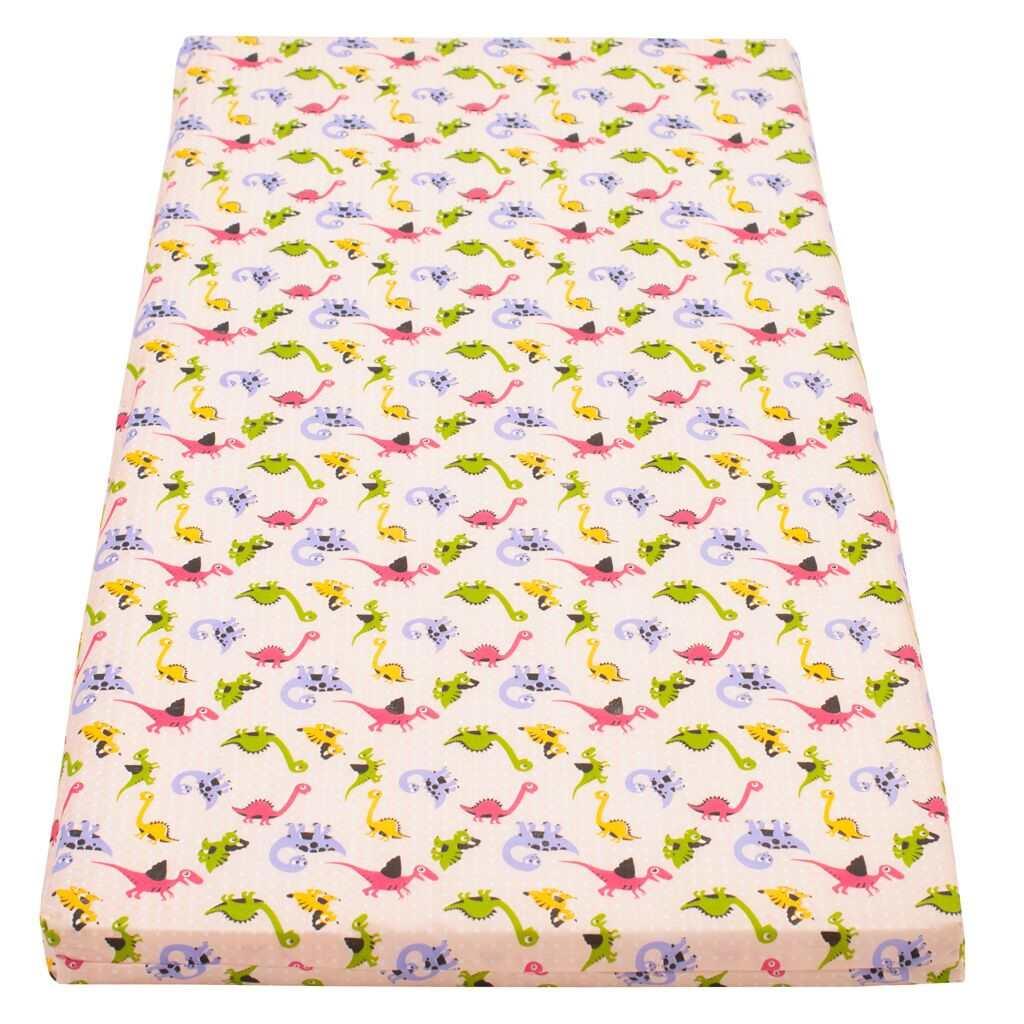 Detský penový matrac New Baby 120x60 rúžový - rôzne obrázky