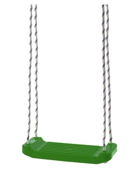 Detská hojdačka  tmavo zelená
