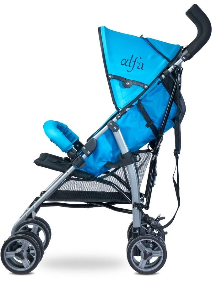 Golfový kočík CARETERO Alfa blue 2016