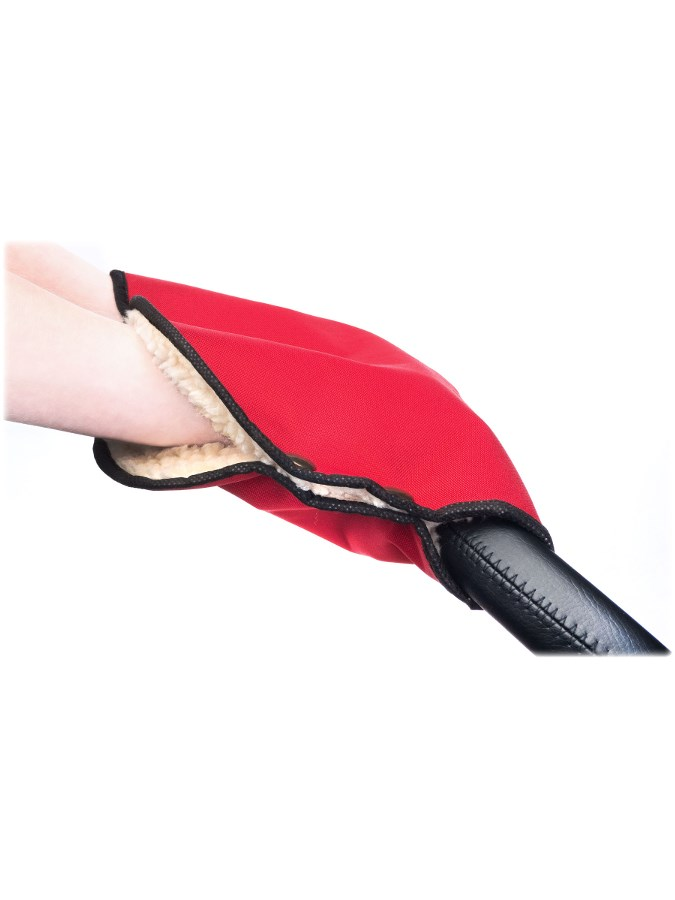 Rukávnik na kočík Sensillo 40x45 red