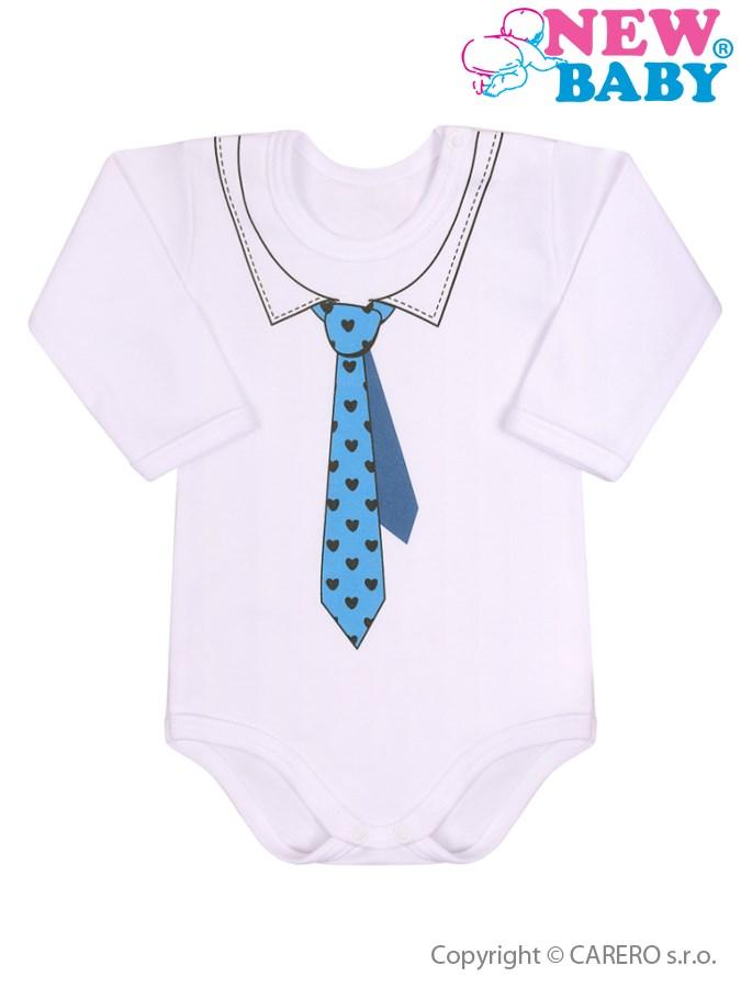Dojčenské body s kravatou New Baby-74 (6-9m)