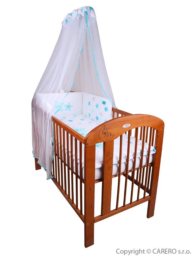 6-dielne posteľné obliečky Belisima Veselé Hviezdičky 100/135 modré
