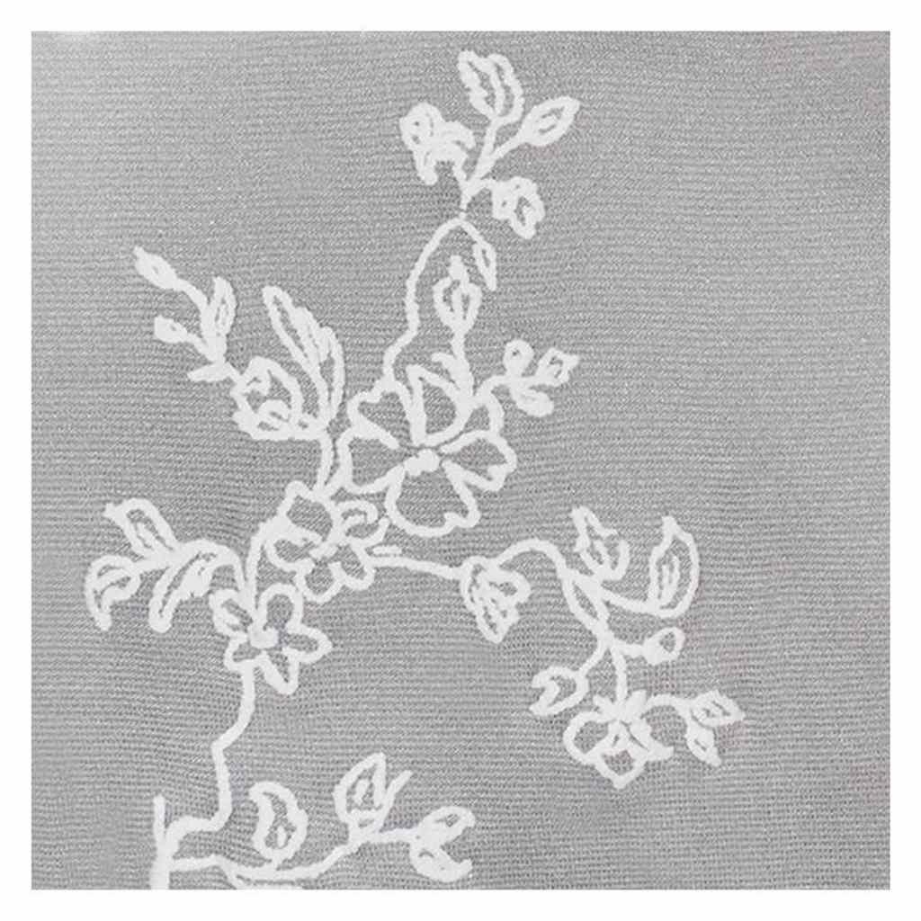 Pančucháče z mikrovlákna New Baby sivé s kvietkami 152 (11-12r)