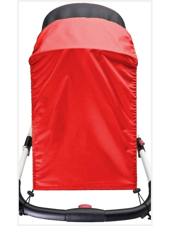 Slnečná clona na kočík CARETERO red