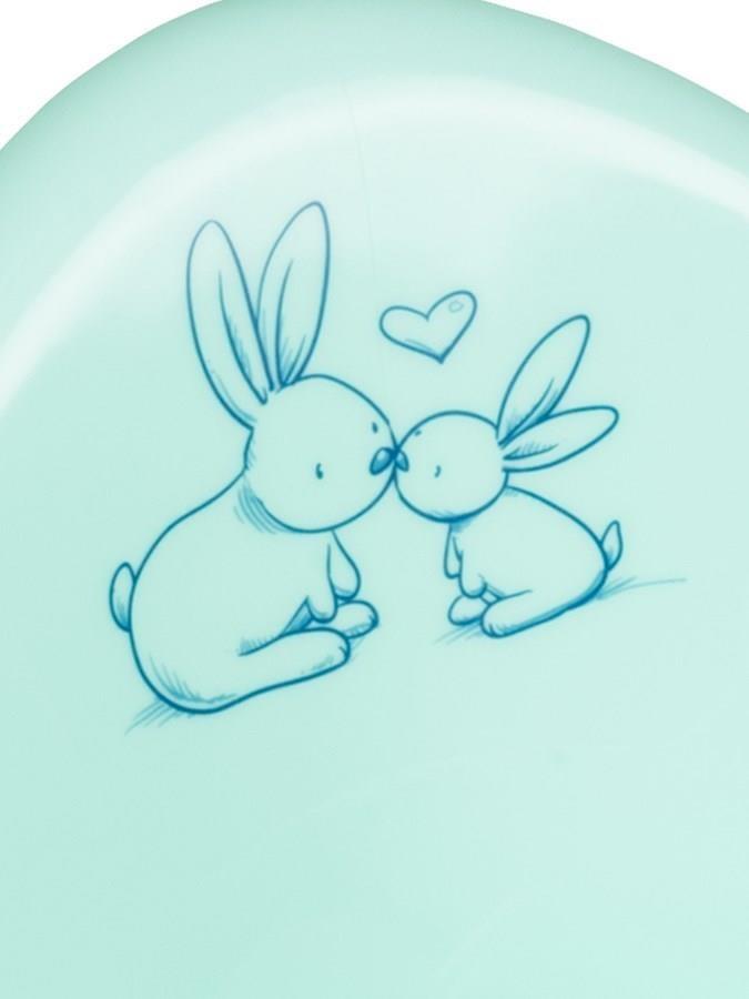 Lehátko na kúpanie Bunny mätové