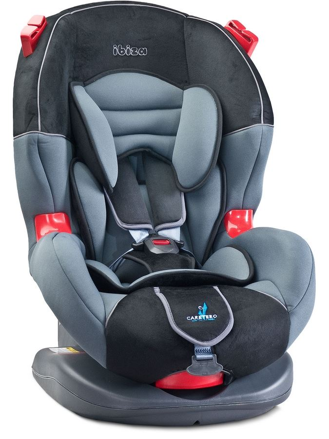 Autosedačka CARETERO IBIZA New graphite 2016