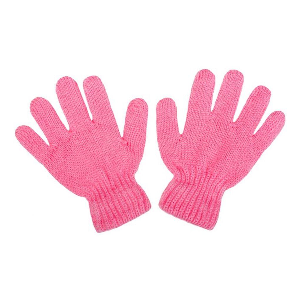 Detské zimné rukavičky New Baby ružové Veľkosť: 104 (3-4r)