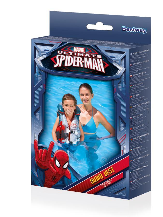Detská nafukovacia vesta Bestway Spider-Man