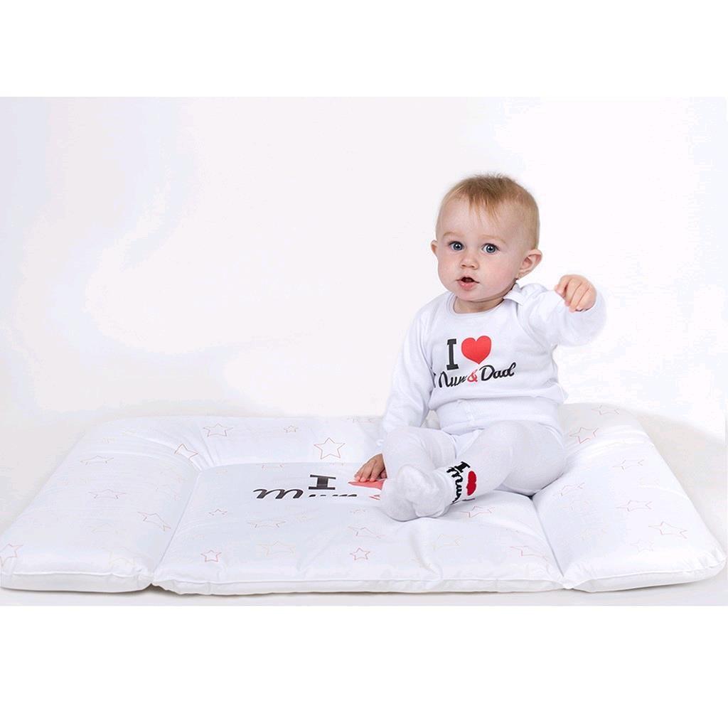Dojčenské froté ponožky New Baby biele I Love Mum and Dad 62 (3-6m)