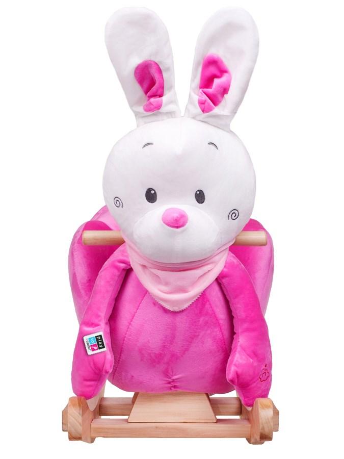 Hojdacia hračka s melódiou PlayTo králiček ružová