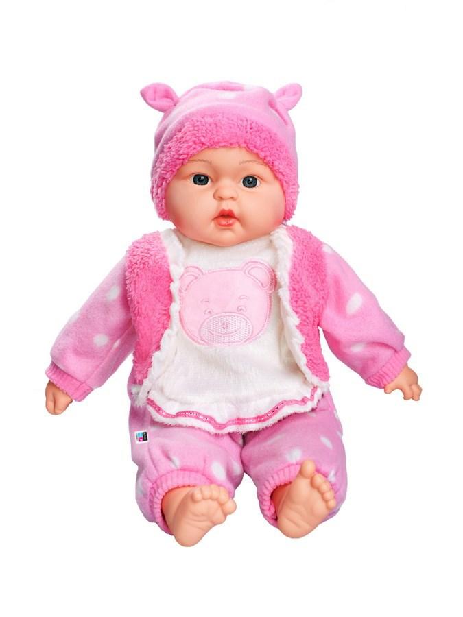 Česky hovoriaca a spievajúca detská bábika PlayTo Anička 46 cm
