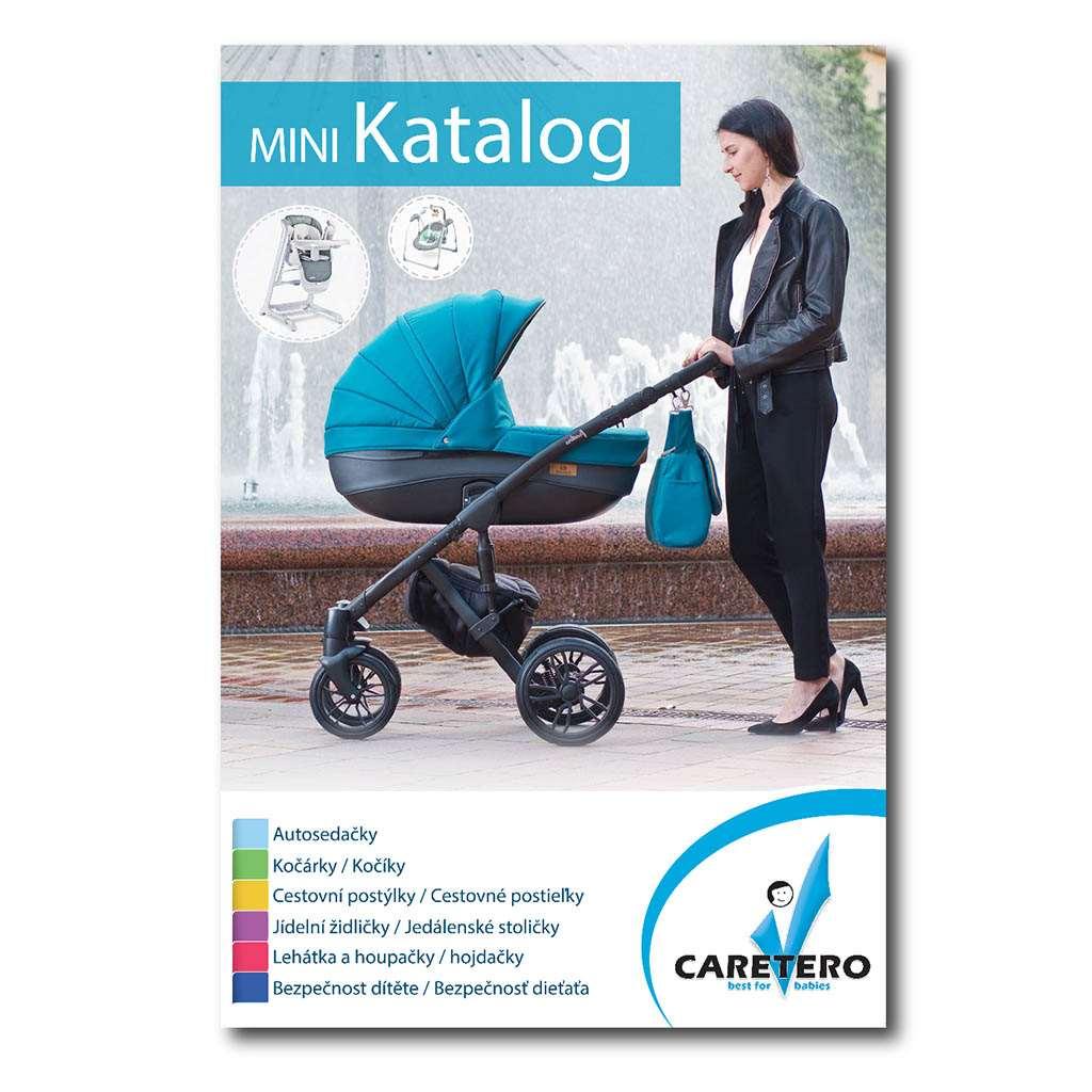 Propagačné materiály Caretero - katalóg 2019 balenie-50 ks