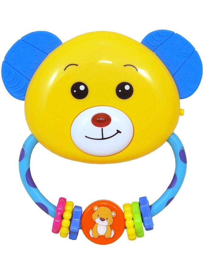 Detská hrkálka s melódiou Baby Mix medvedík