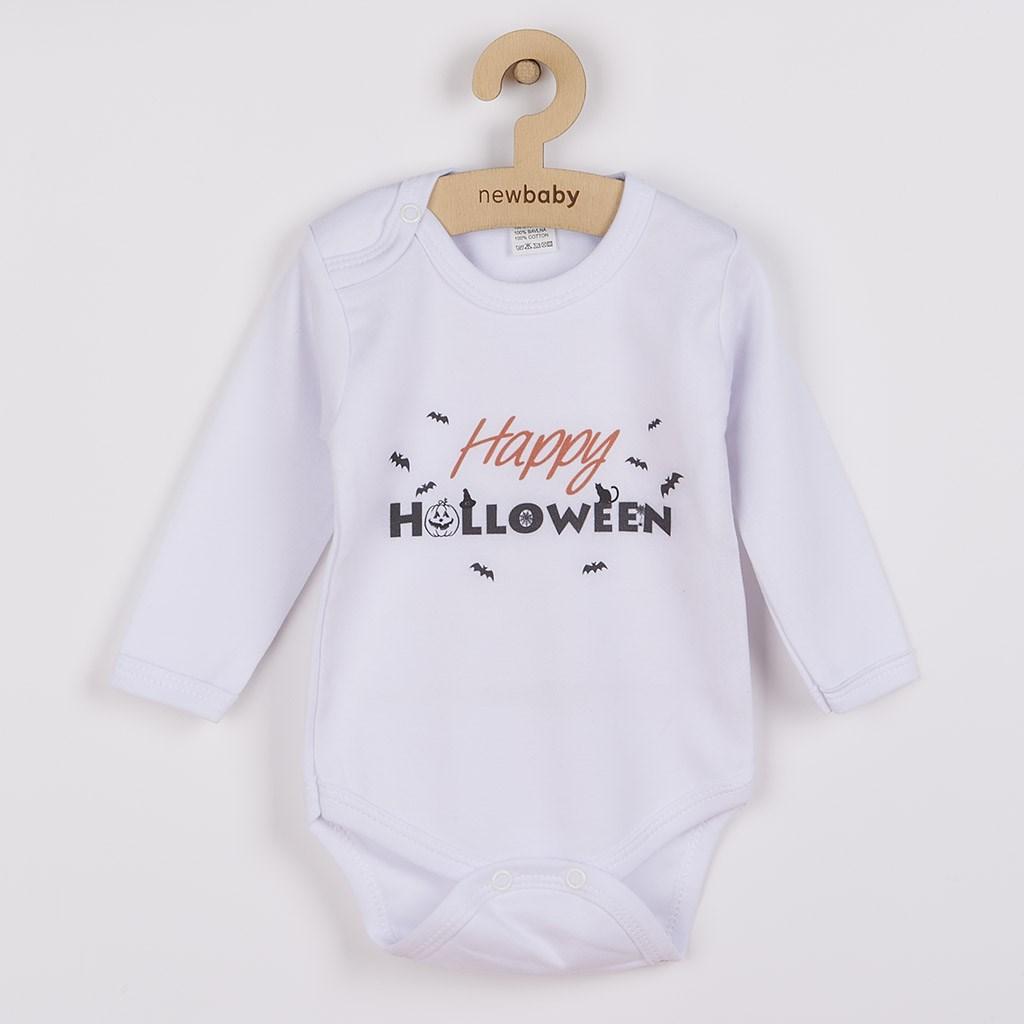 Body s potlačou New Baby Happy Halloween-56 (0-3m)