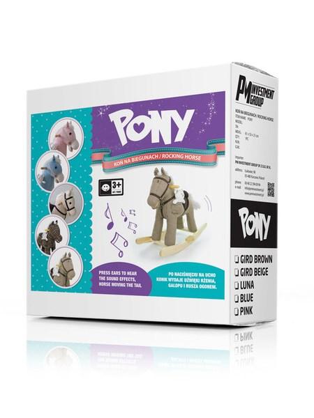 Hojdací koník Milly Mally Pony fialový