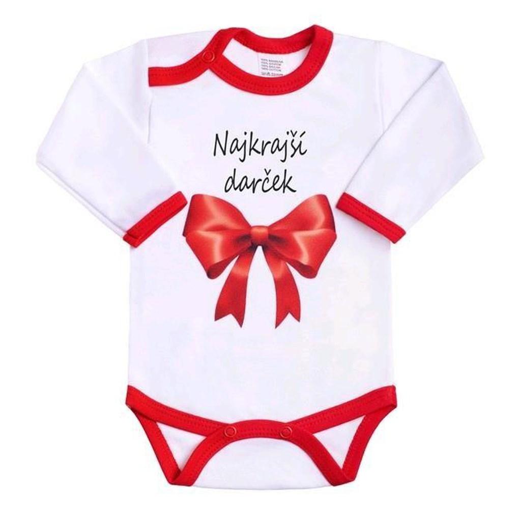 Body s potlačou New Baby Najkrajší darček