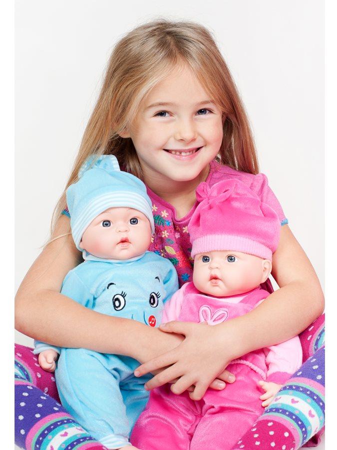 Poľsky hovoriaca a spievajúca detská bábika PlayTo Agatka 46 cm