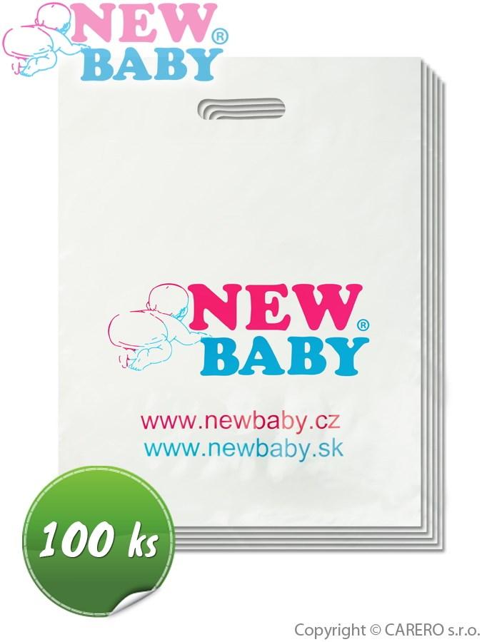 Propagačné materiály-igelitové tašky New Baby balenie-100 ks