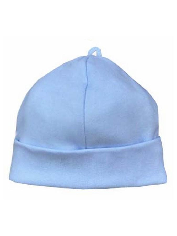 Dojčenská bavlnená čiapočka Koala Balónik modrá-56 (0-3m)