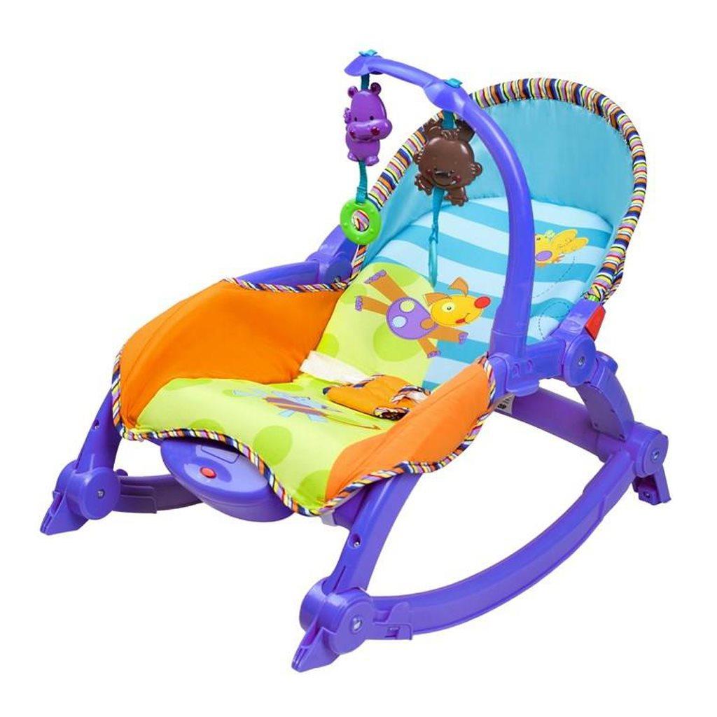 Detské lehátko 2v1 Bayo blue