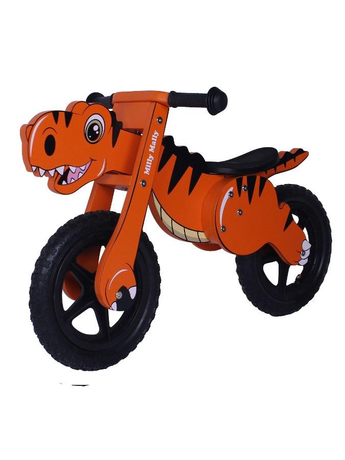 Detské odrážadlo-bicykel Milly Mally DINO orange