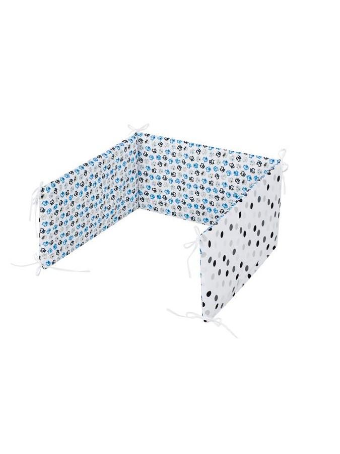 5-dielne posteľné obliečky Belisima Mačiatka 100/135 modré