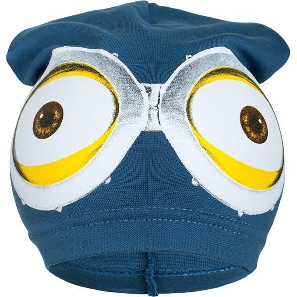 Jarná detská čiapočka New Baby mimoň modrá