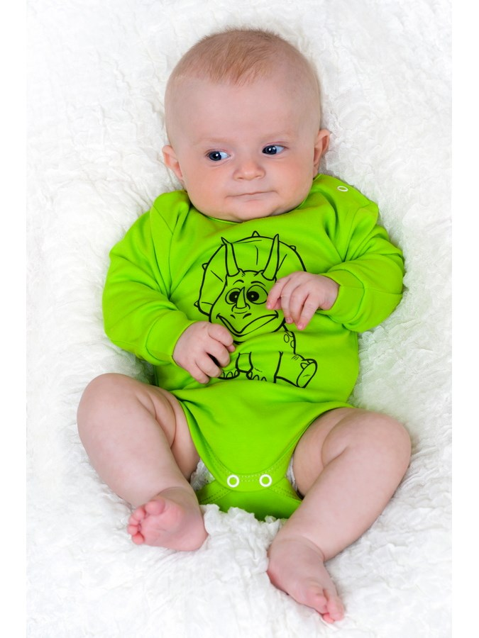 Dojčenské body s dlhým rukávom New Baby Zvieratko Zajačik sivé 68 (4-6m)