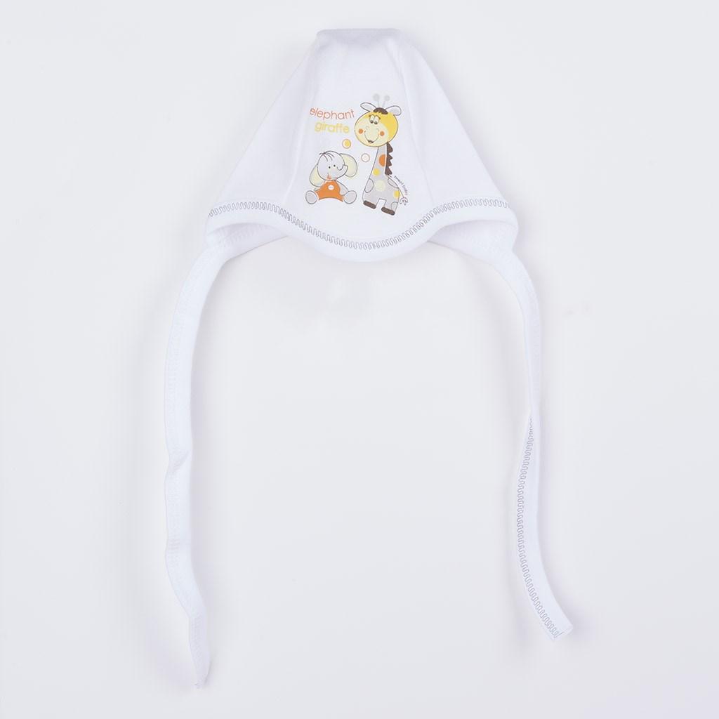 Súpravička 4-dielna Žirafka a Slon 56 (0-3m)