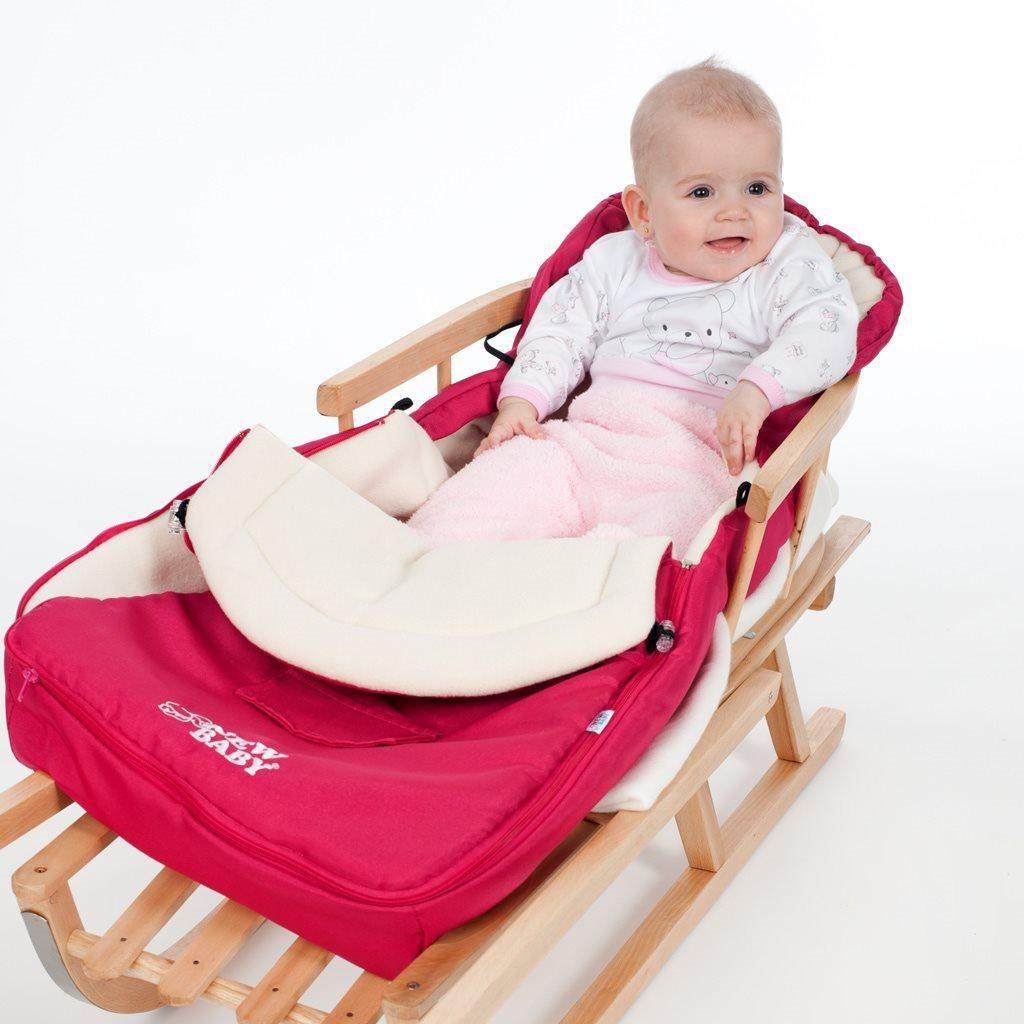 Zimný fusak New Baby Classic Fleece pink