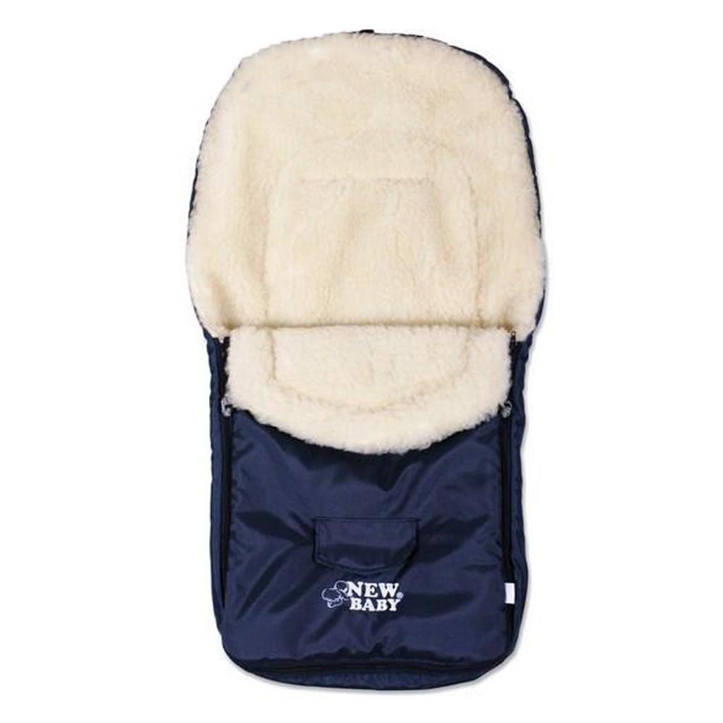 Zimný fusak New Baby Classic Wool blue