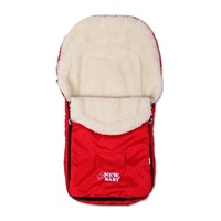Zimný fusak New Baby Classic Wool red