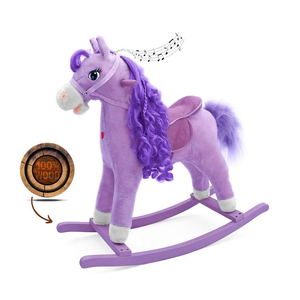 Hojdací koník Milly Mally Princess violet