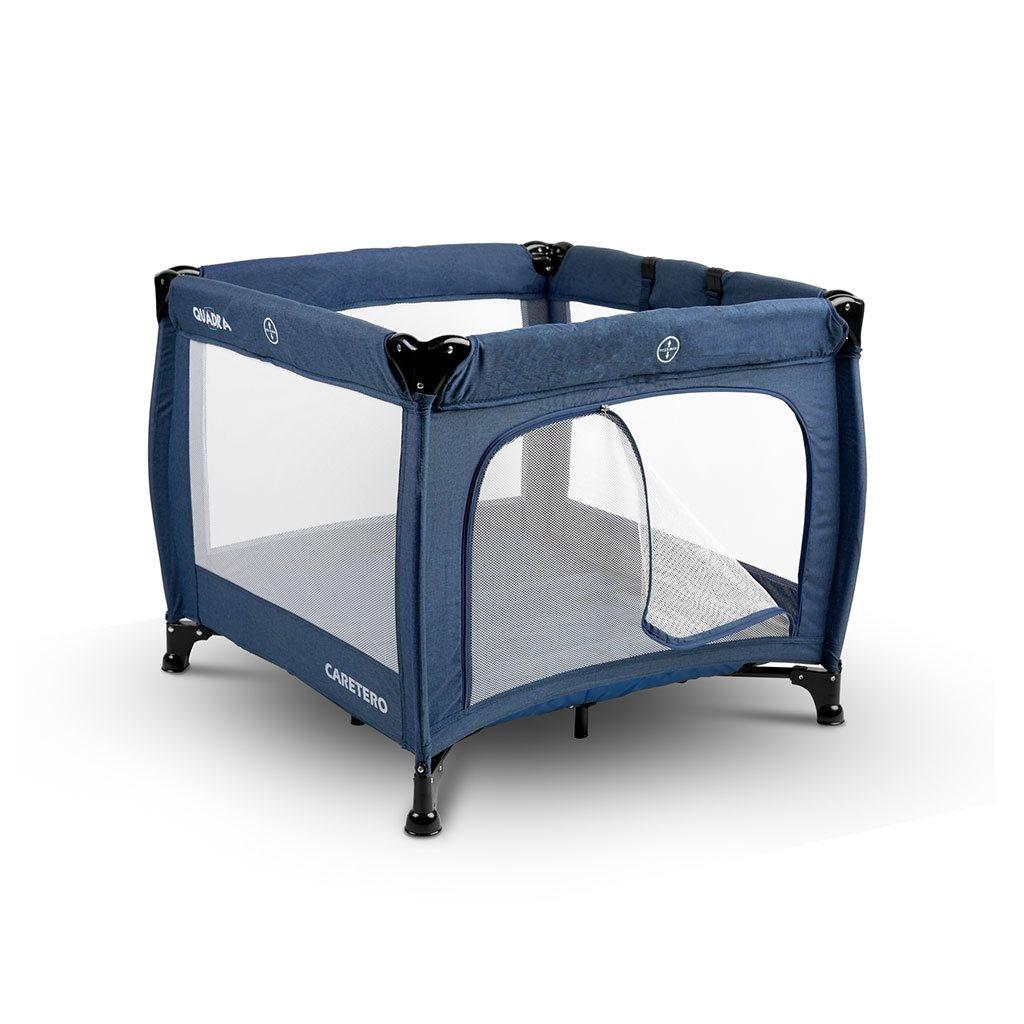 Detská skladacia ohrádka CARETERO Quadra blue