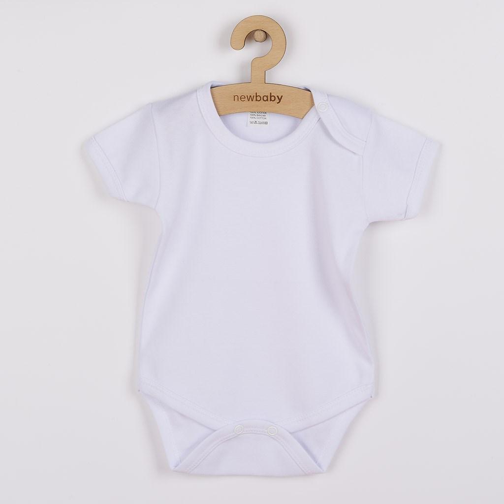 Body krátky rukáv New Baby Classic Veľkosť: 80 (9-12m)