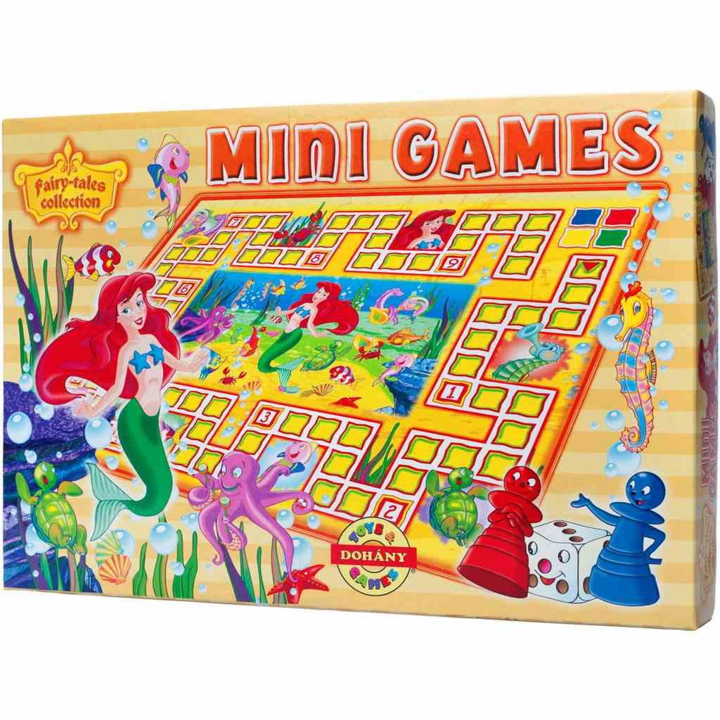 Stolná hra Mini Games Morská víla