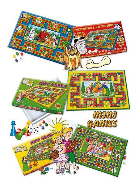 Stolná hra Mini Games Pinokio