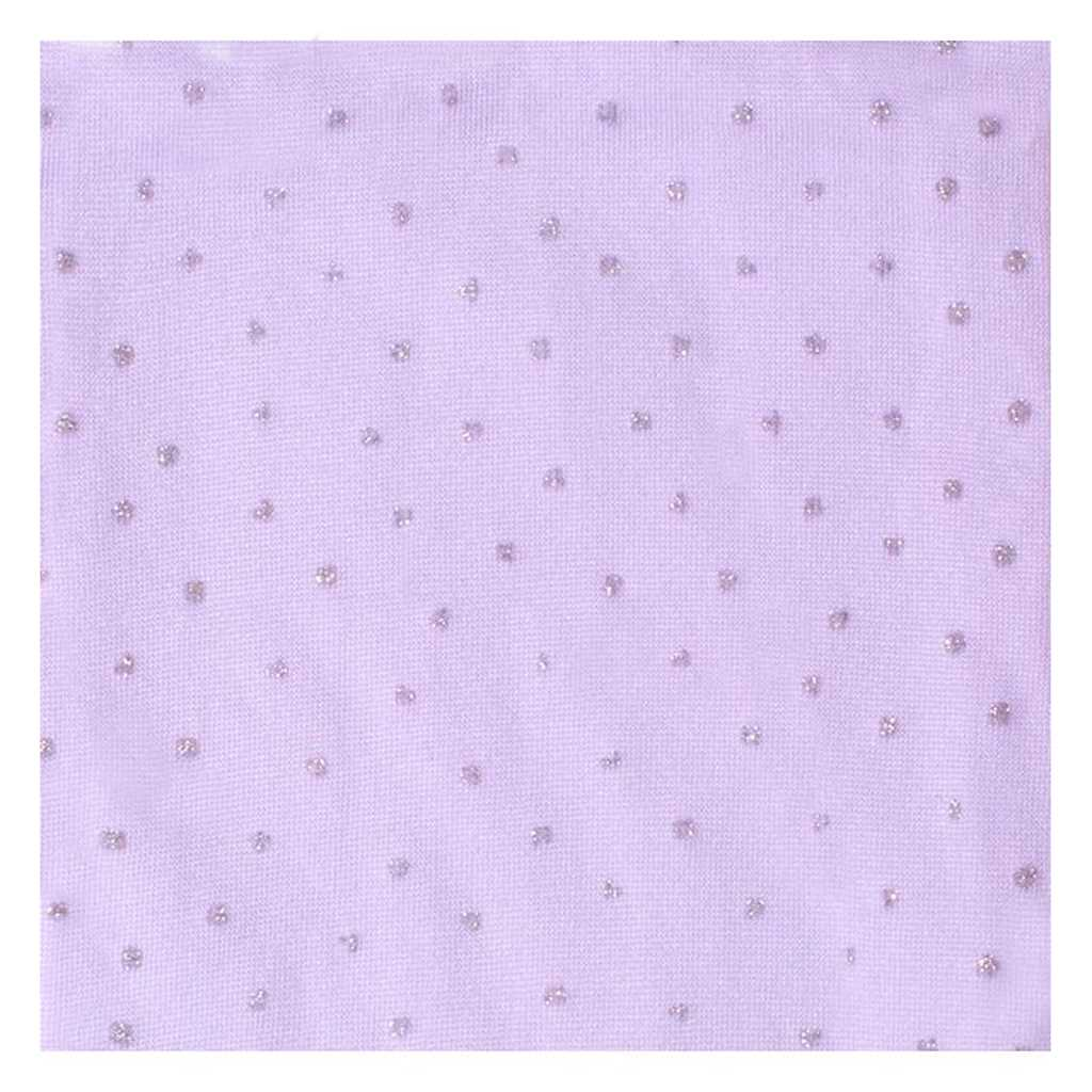 Pančucháče z mikrovlákna New Baby fialové
