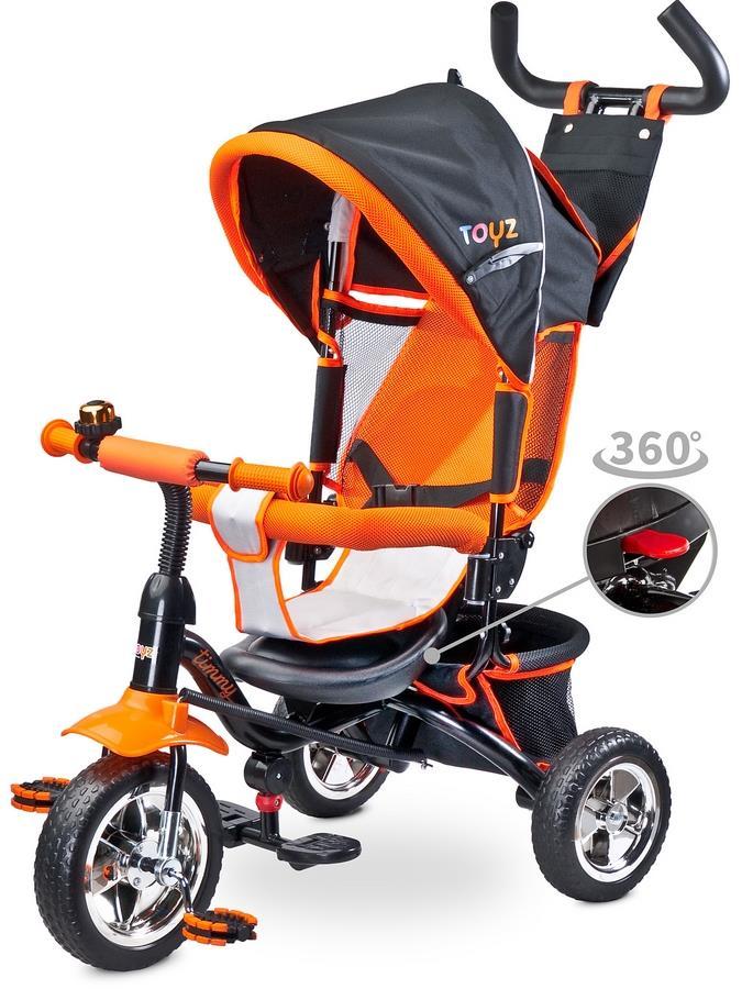 Detská trojkolka Toyz Timmy orange 2017