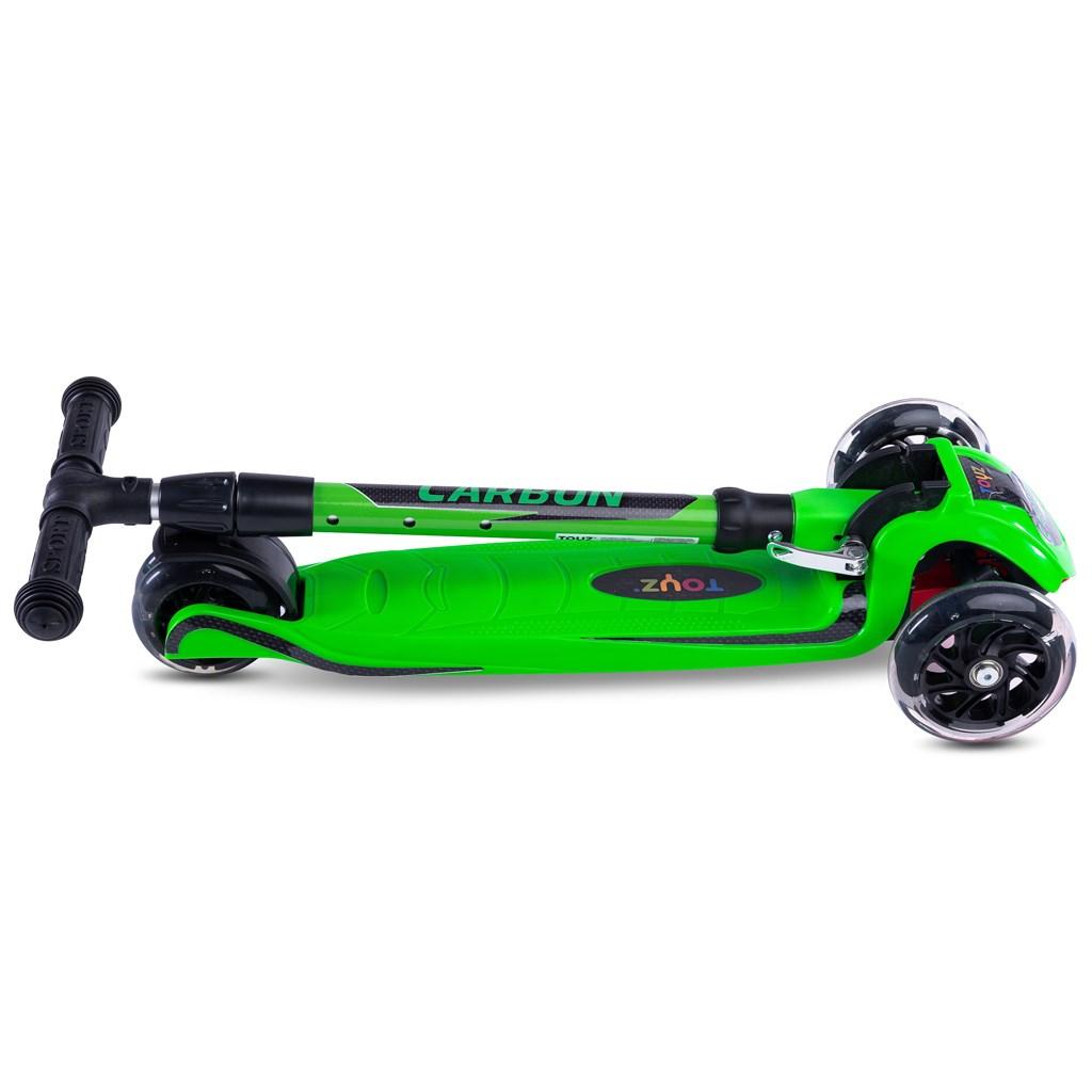 Detská kolobežka Toyz Carbon green