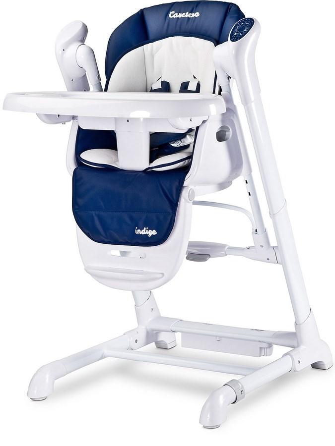 Detská jedálenská stolička 2v1 Caretero Indigo navy