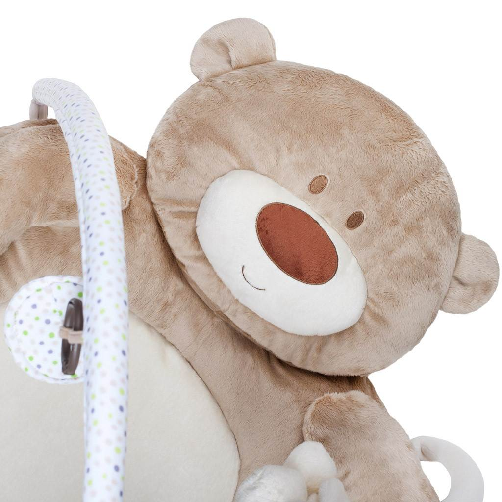 Luxusná hracia deka s melódiou PlayTo medvedík